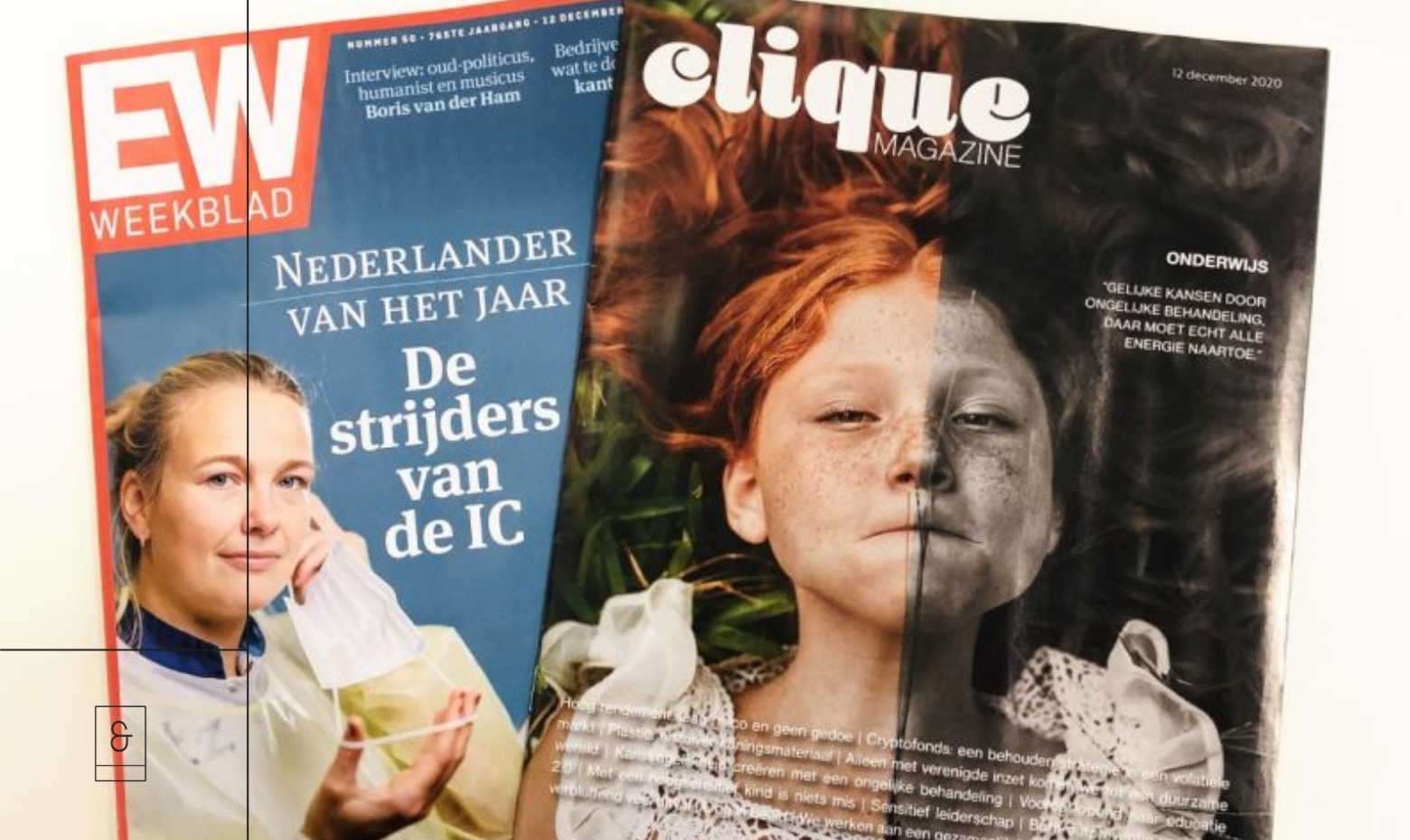 HSP en Werk in Elsevier weekblad clique magazine